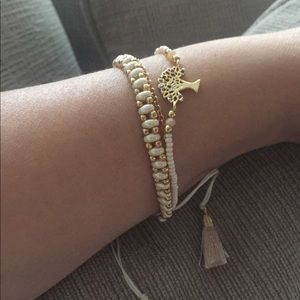 Set of 2 bracelets.. Tree of life